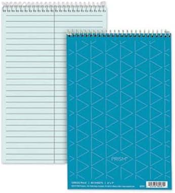 Spiral Steno Notebook Gregg Very popular Rule Ranking TOP20 6 9 Blue 80-Sheet 4 x Pads