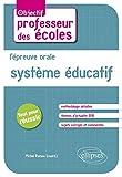 L'Épreuve Orale Système Éducatif