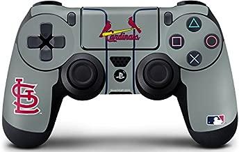 MLB St. Louis Cardinals PS4 DualShock4 Controller Skin - St. Louis Cardinals Alternate/Away Jersey Vinyl Decal Skin For Your PS4 DualShock4 Controller
