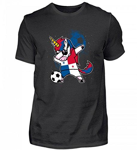 Hochwertiges Herren Shirt - Dabbendes Einhorn Panama Fußball Damen Trikot - Panama/Fußball Trikot