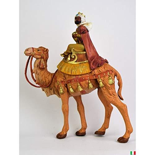 Fontanini Rey Magio Moro a camello 19 cm