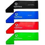 #DoYourFitess Fitnessbänder in 4-Stärken | Erhältlich als Set (4Stück) oder Einzeln |...