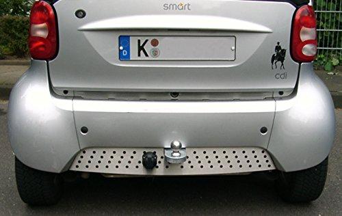 MisterDotCom - Enganche de Remolque para Smart Fortwo 450 Cabrio, Incluye Juego eléctrico