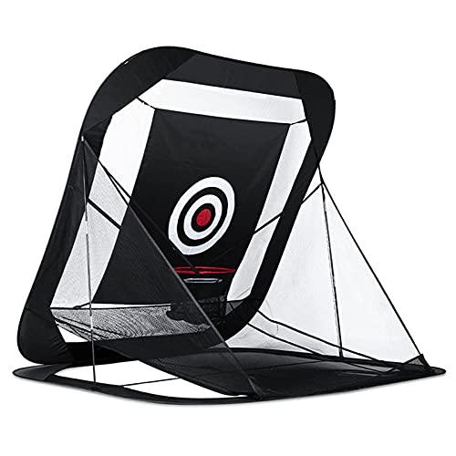 Práctica de Golf Equipo de ayudas para el Entrenamiento Accesorios de Golf Red de práctica de Golf Golf Indoor r Chipping Pitching Cages Portable 215 * 215 * 215cm
