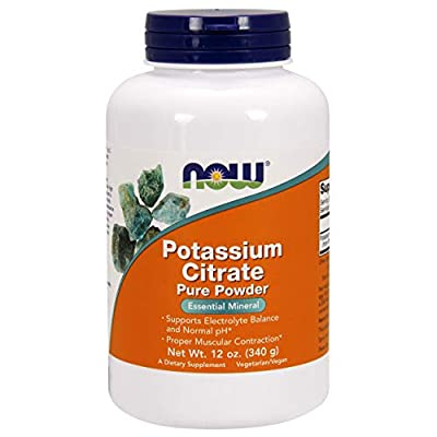 Now Foods Potassium Citrate Pure Powder, 340 g