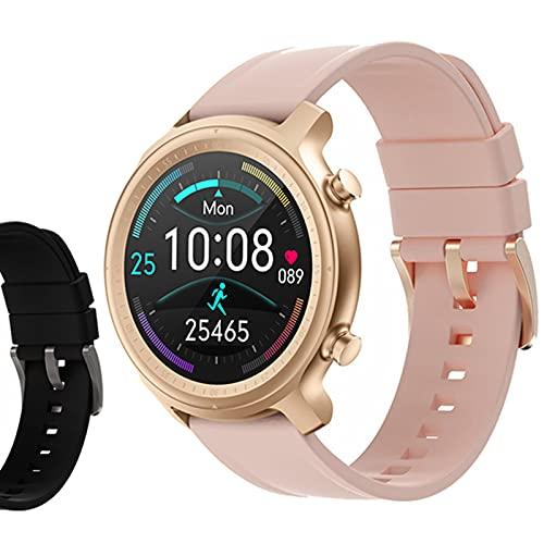 ZGNB Q1 Smart Watch, Ladies BT Call/Sport Podómetro/Monitoreo de frecuencia cardíaca/Seguimiento de sueño/Relojes Relojes Inteligentes,G