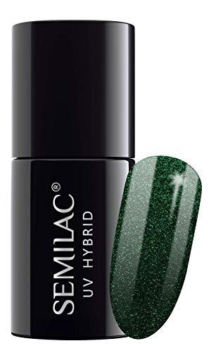 semilac UV Hybrid Nagellack, Anzahl 080, 7ml, Amazon Forest