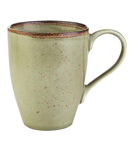 Kaffeetasse Kaffeebecher Teetasse | Steinzeug | Grün | 300 ml