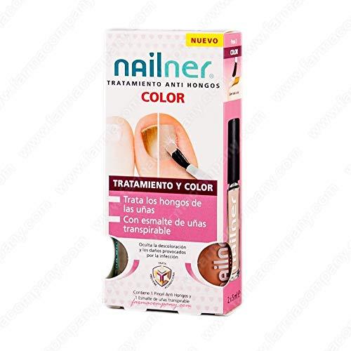 Nailner Pilzbehandlung + Lack Farbe vivid pink