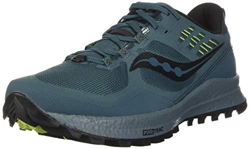 Saucony, Zapatillas de Atletismo Hombre, Steel, 42 EU