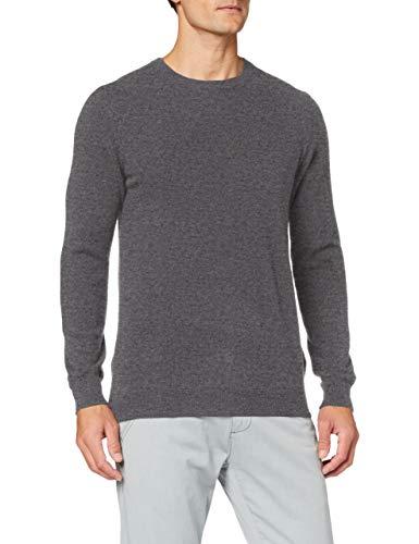 Celio JECLOUD suéter, Grey Mid Mel, M para Hombre