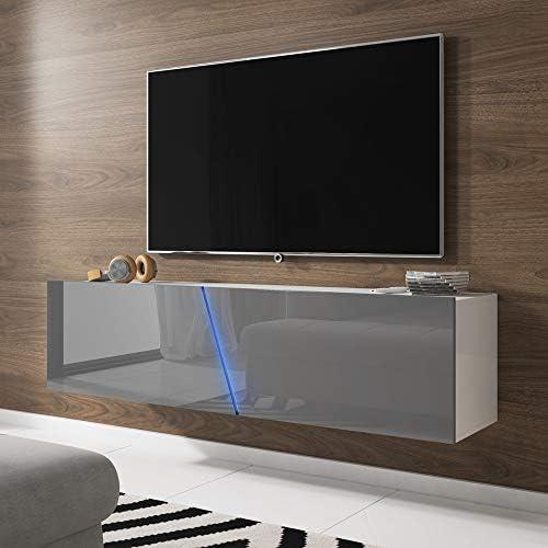 Selsey - Mueble para televisor (160 x 40 x 35 cm), Color Negro Mate: Amazon.es: Hogar