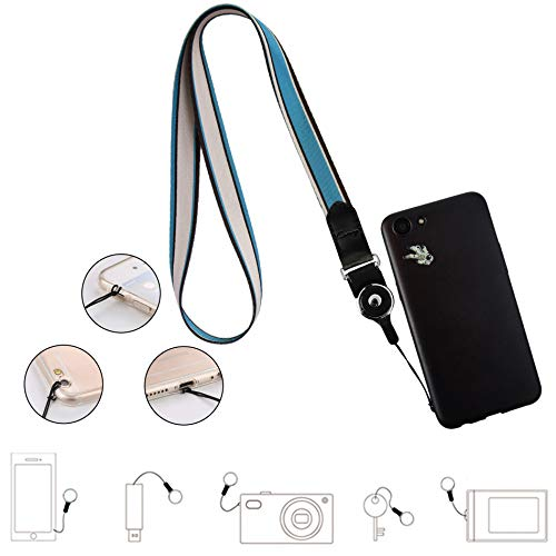Cell Phone Lanyard Detachable, Universal Phone Neck Strap, Soft Phone Lanyard Neck Strap Case Holder, Crimmy Smartphone Strap (010)