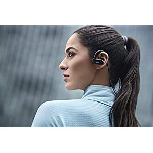 Jabra Elite Active 45e Wireless Sports Earbuds, Navy – Alexa Enabled Wireless Bluetooth Earbuds, Around-The-Neck Style with a Secure Fit and Superior Sound, Long Battery Life, Ideal for Running
