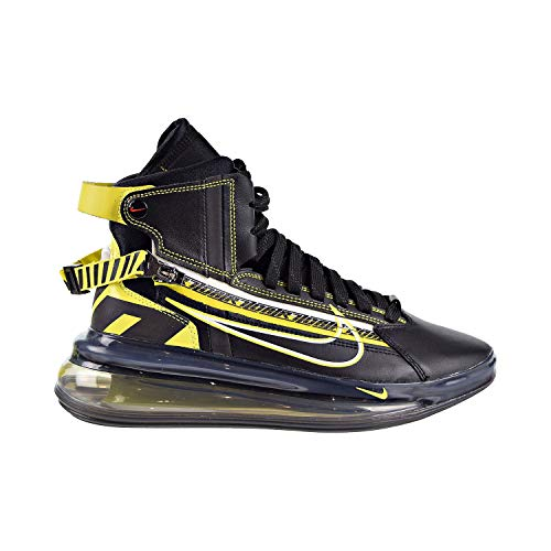 Price comparison product image Nike Air Max 720 Saturn All Star Qs Mens Shoes Black / Dynamic Yellow bv7786-001 (11.5 D(M) US)
