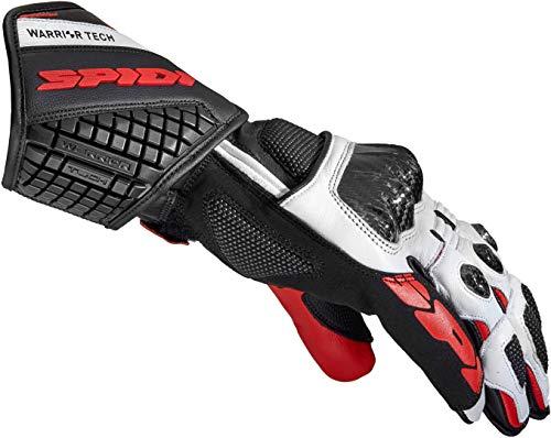 Spidi Carbo 5 Handschuhe Schwarz/Weiß/Rot M
