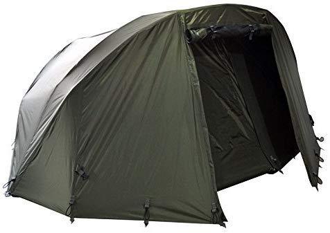 Carpline24 Skin für Angelzelt Economic 1-Mann-Bivvy I stabiler Zelt-Überwurf wasserdicht 10.000mm Wassersäule I atmungsaktiv I schneller Aufbau I Fishing Tent I Outdoor Camping Festival I 3kg