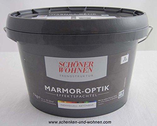 Marmor-Optik Effektspachtel 1 kg Schöner Wohnen abtönbar