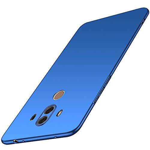 Huawei Mate 10 Pro Hülle, Anccer [Serie Matte] Elastische Schockabsorption & Ultra Thin Design (Glattes Blau)