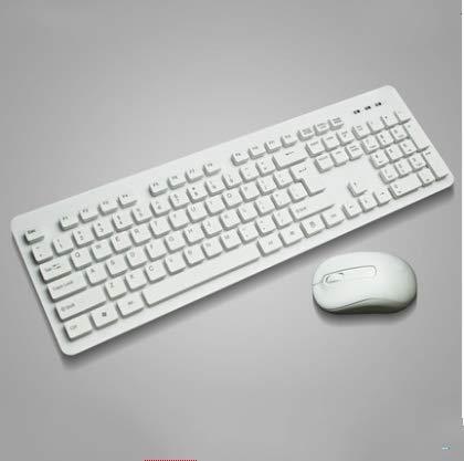 zhuao draadloze toetsenbord muis set, lichtgewicht draagbaar toetsenbord, externe externe ontvanger toetsenbord