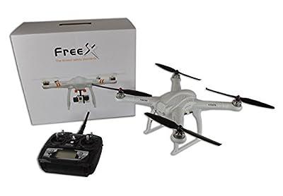 Skyartec FreeX Drone - GPS Radio Controlled Quadcopter - Ready to Fly (RTF) by Skyartec