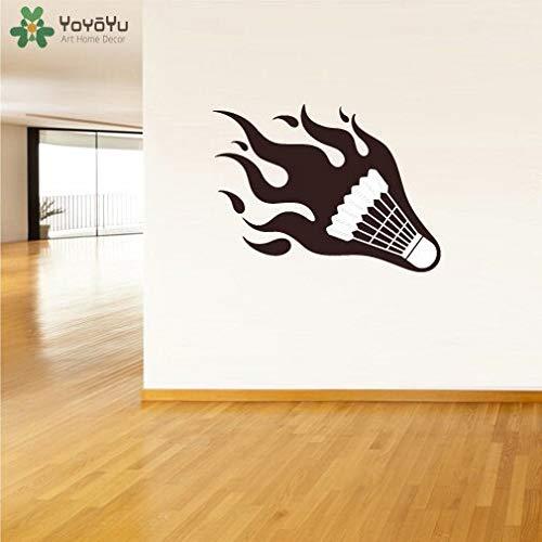 woyaofal Volani Adesivo da Parete Vinile Sport Adesivo da Parete per camerette Design Moderno Speciale Rimovibile Gym Interior Art Murale DIY42x31cm
