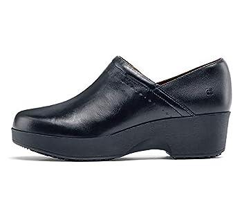 Shoes for Crews Women s Juno Slip Resistant Clog Black 7 Medium US