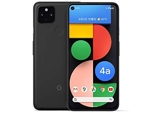国内SIMフリーGoogle Pixel 4a (5G) 128GB Just Black ブラック スマートフォン本体