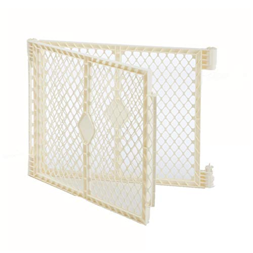 """Superyard Ultimate Play Yard 2-Panel Extension by North States - Compatible with Superyard Ultimate (Increases width up to 48"""", ivory)"""