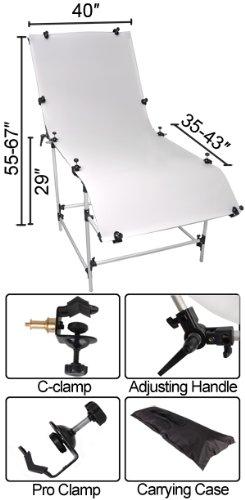 40x80 inch Tabletop Photo Studio Shooting Table