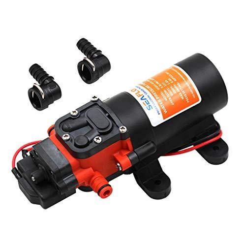 perfk 12 V 4,3 LPM Membranpumpe Wasserpumpe Hochdruckpumpe für Auto LKW PKW Wohnwagen Boot Jacht