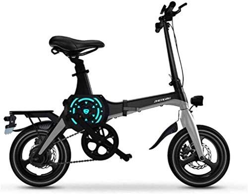 Ebikes, bicicletas eléctricas rápidas para adultos de 14 pulgadas Portátil plegable Bicicleta de montaña eléctrica para adultos con batería de iones de litio 36V E-bike 400w Motor potente adecuado par