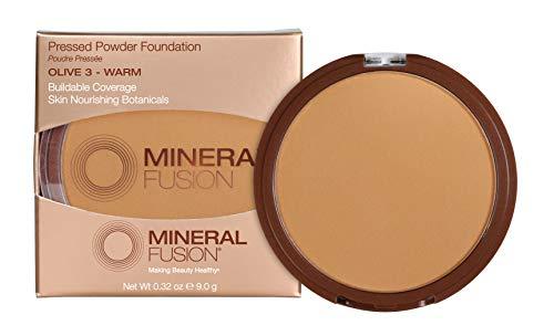 Mineral Fusion Pressed Powder Foundation, Olive 3 - 0.32oz ea