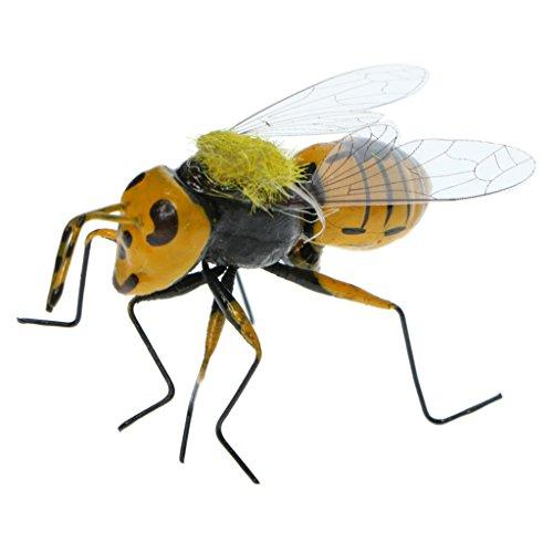Homyl Animaux Aimant en Clay Pot D'insectes Décoration Figurine Artisanat Micro-paysagère - Abeille