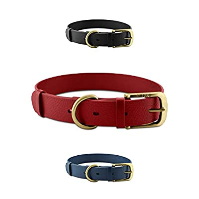Tuff Pupper Classic 'Lifetime' Heavy Duty Dog Collar - Stronger Than Leather - Waterproof & Odor Free - Guaranteed for Life