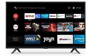 "Xiaomi Mi Smart TV 4A 32"" (HD LED Smart TV, Triple Tuner, Android TV 9.0, Fernbedienung mit Mikrofon, Amazon Prime Video und Netflix)"
