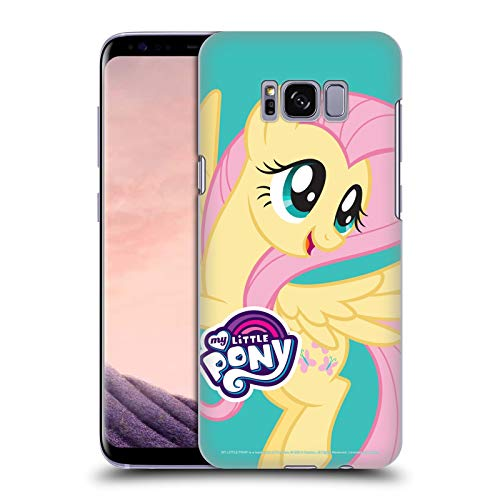 Head Case Designs Officially Licensed My Little Pony Fluttershy Solo Character Art Hard Back Case Compatible with Samsung Galaxy S8