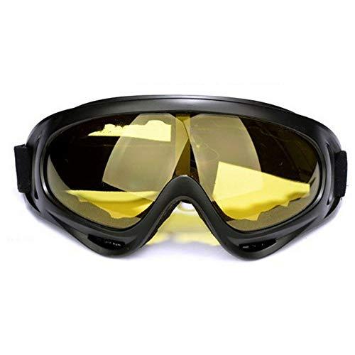 Óculos Goggles Airsoft Paintball Moto Esqui (Amarelo)