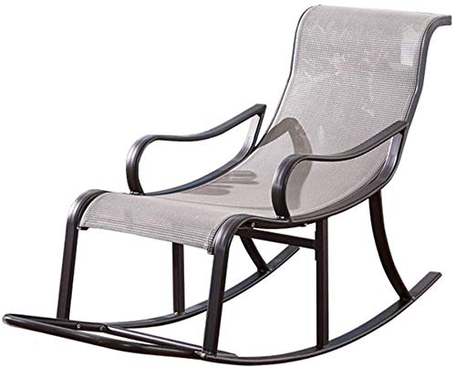 ADAHX Rocking Chair Zero Gravity Chair, Patio Chaise Lounge Lawn Portable Recliner with Pillow for Indoor & Outdoor Home Yard Pool, Weight Capacity 300 LBS