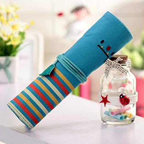 Simmia Boîte de Rangement pour Maquillage avec Compartiments, Design Transparent, Support de pinceaux de Maquillage, Sac de Maquillage Simple, Sac de Rangement de 20 x 6 (Pliable)