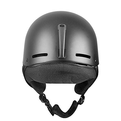 Greatideal Casco de Seguridad para Snowboard Compatible con Gafas de esquí para Esquiar, Bicicleta de montaña con ventilación y Casco de Escalada para niños y Adultos (sin Gafas de esquí)