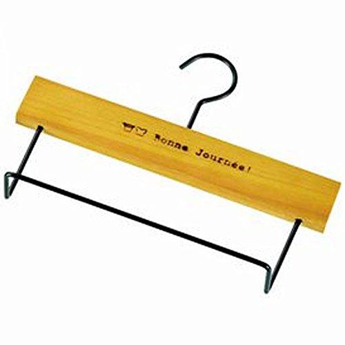 エコー金属 木製タオルハンガー 0657-263