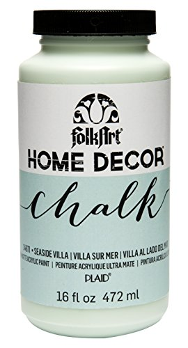 FolkArt Home Decor Chalk Furniture & Craft Paint in Assorted Colors, 16 ounce, Seaside Villa