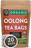 Organic Oolong Tea Bags | 20 Tea Bags | Eco-Conscious Tea Bags in Kraft Bag |...