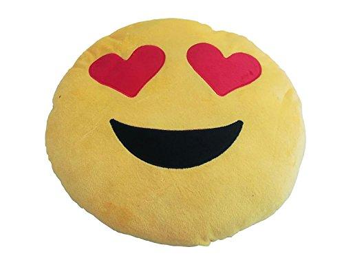 LAS COSAS QUE IMPORTAN Cojin Almohada Corazon Corazones Emoticono Regalar Regalo Novia Novio Pareja Mujer Hombre Regalos Originales San Valentin para el Coche. Muy Suave Y Confortable