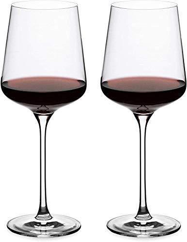 Kristallweingläser, Universal Rotweinglas 2er-Set, Weingläser 24 Unzen, Bordeauxgläser, Premium-Kristallglas für Weiß- und Rotwein, tolles Geschenk für jeden Anlass