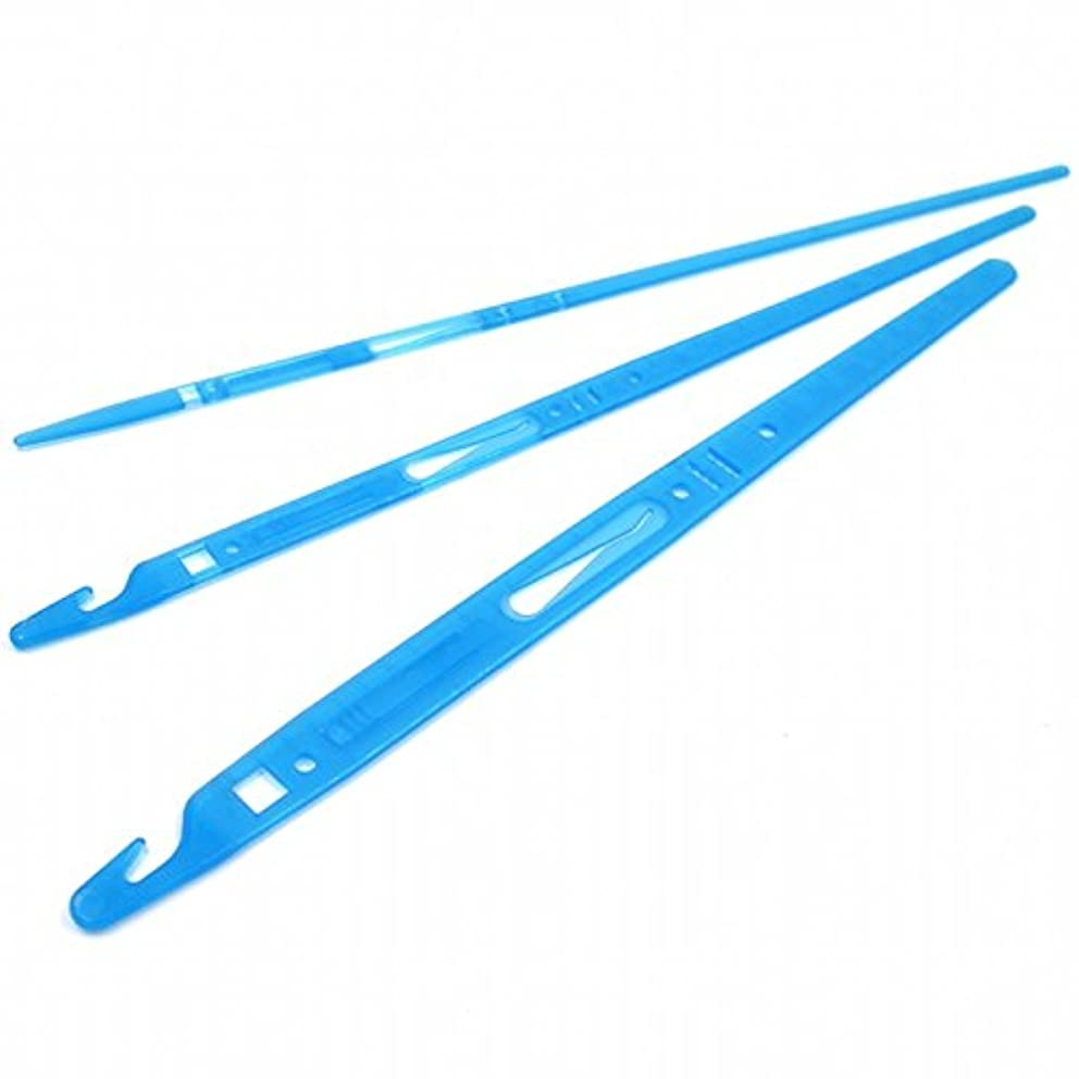 Weishidai Loop Turner&Elastic Threader, Quick Turn,use for Threading Ribbons, fine Elastic Through casing and Eyelets.