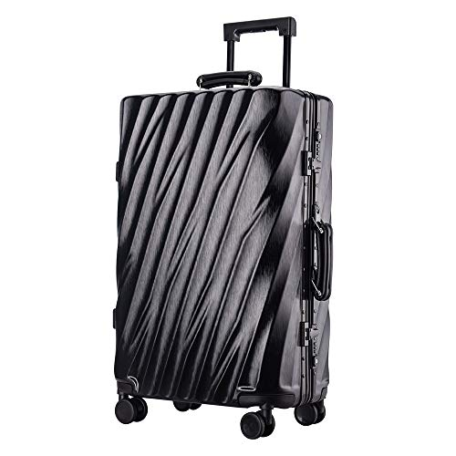 Checked luggage 20 Inch 24 Inch 26 Inch 29 Inch Portable Carry On Luggage Suitcase Aluminum With TSA Locks Trolley Suitcase With Spinner Wheels Business Travel Bag Spinner Hardshell Travel checked lug