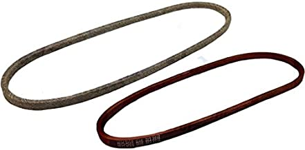 Set of 2 OEM Spec Variable Speed MTD Belts 754-0280 754-0370 954-0280