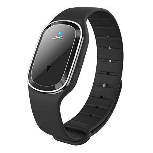 CHICIRIS Smart Bracelet, Waterproof Heart Rate Monitor Blood Pressure Monitoring Sport Bracelet, Smart Sports Fitness Tracker Kids for Women and(M1- black countless display)
